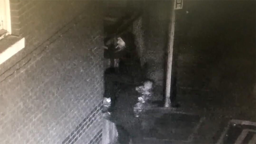 Nieudolni włamywacze nagrani przez kamerę