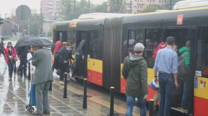Służewiec bez tramwajów. Tłoczno w autobusach