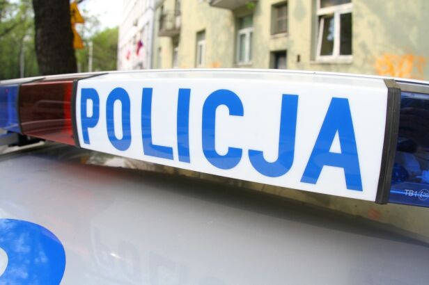 Policja zatrzymała mężczyznę Maciej Wężyk / tvnwarszawa.pl