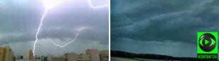 Złowrogie pioruny, apokaliptyczne chmury. Burzowa sobota na Waszych zdjęciach