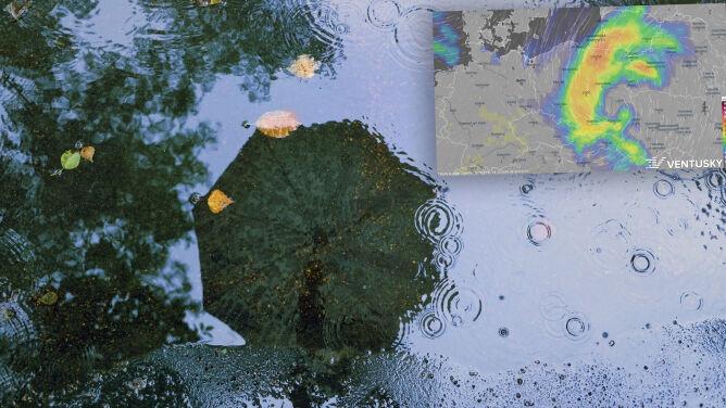 Pogoda na 5 dni: Czas jesiennej słoty. Deszcz i lokalnie tylko 8 stopni