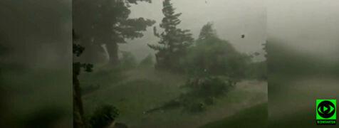 Niedziela pod znakiem dynamicznej pogody. Zdjęcia i filmy Reporterów 24