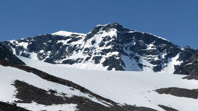 Topnieje najwyższy szczyt Szwecji. <br />Ustąpił miejsca swojemu sąsiadowi