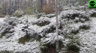 Zimowy koniec majówki. W kolejnych dniach powrócą wiatr i burze